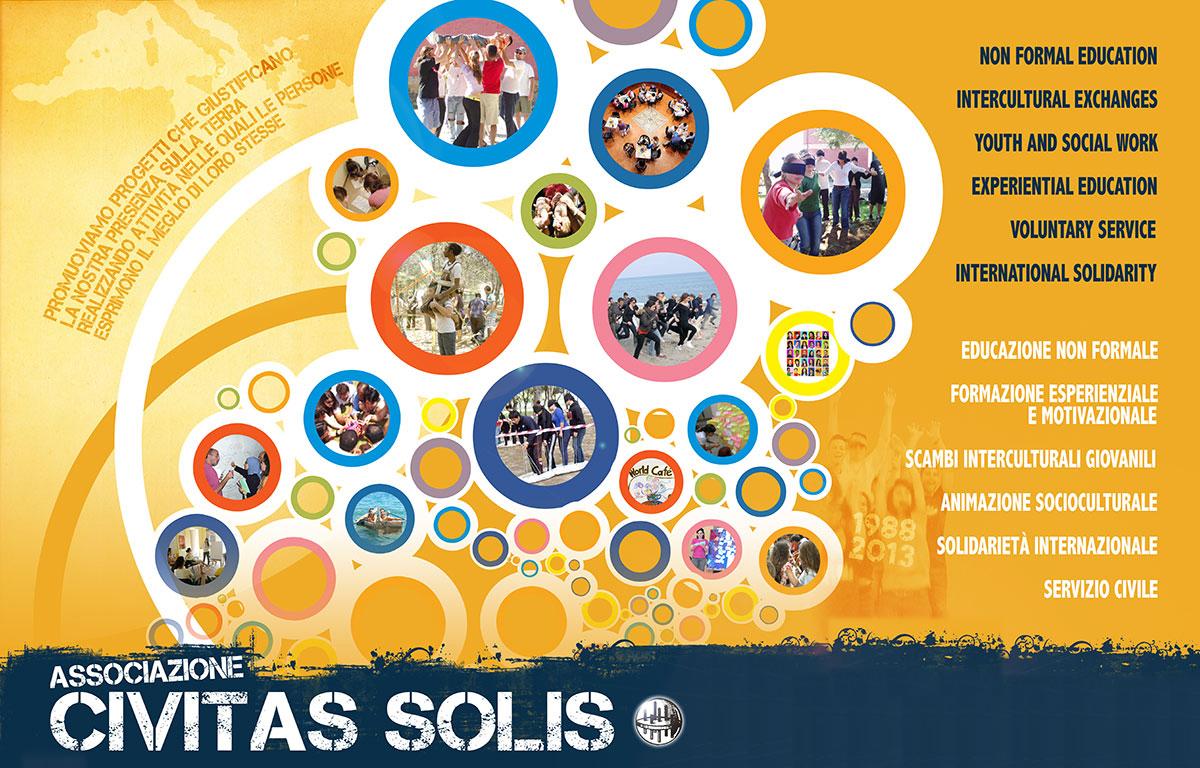 poster associazione civitas solis