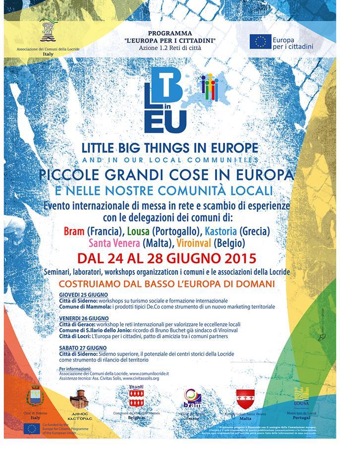 evento calabria piccole grandi cose in europa