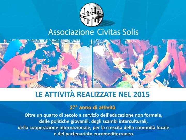 conferenza stampa civitas solis attività 2015 e presentazione programma 2016