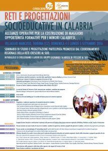 reti e progettazioni socioeducative in Calabria